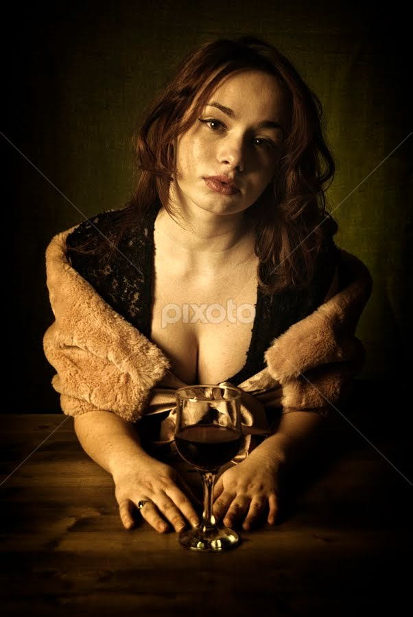 by Soran Sorin - People Portraits of Women ( wine, sexy, young )