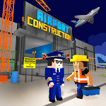 City Game Airport Construction Icon