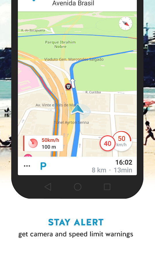 GPS Brasil – Free navigation- screenshot