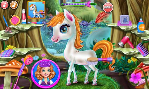Sandra Pony Fairy Salon 1.0.5 screenshots 9