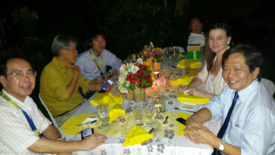Photo: Takashi Kirihara, Yuji Kishi, Yuhi Kuwata, Melanie Ryan, and Noel Hechanova (L-to-R)