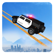 Impossible Police Jeep Stunts