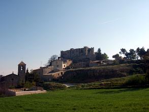 Photo: El Castell del poble. Particular.