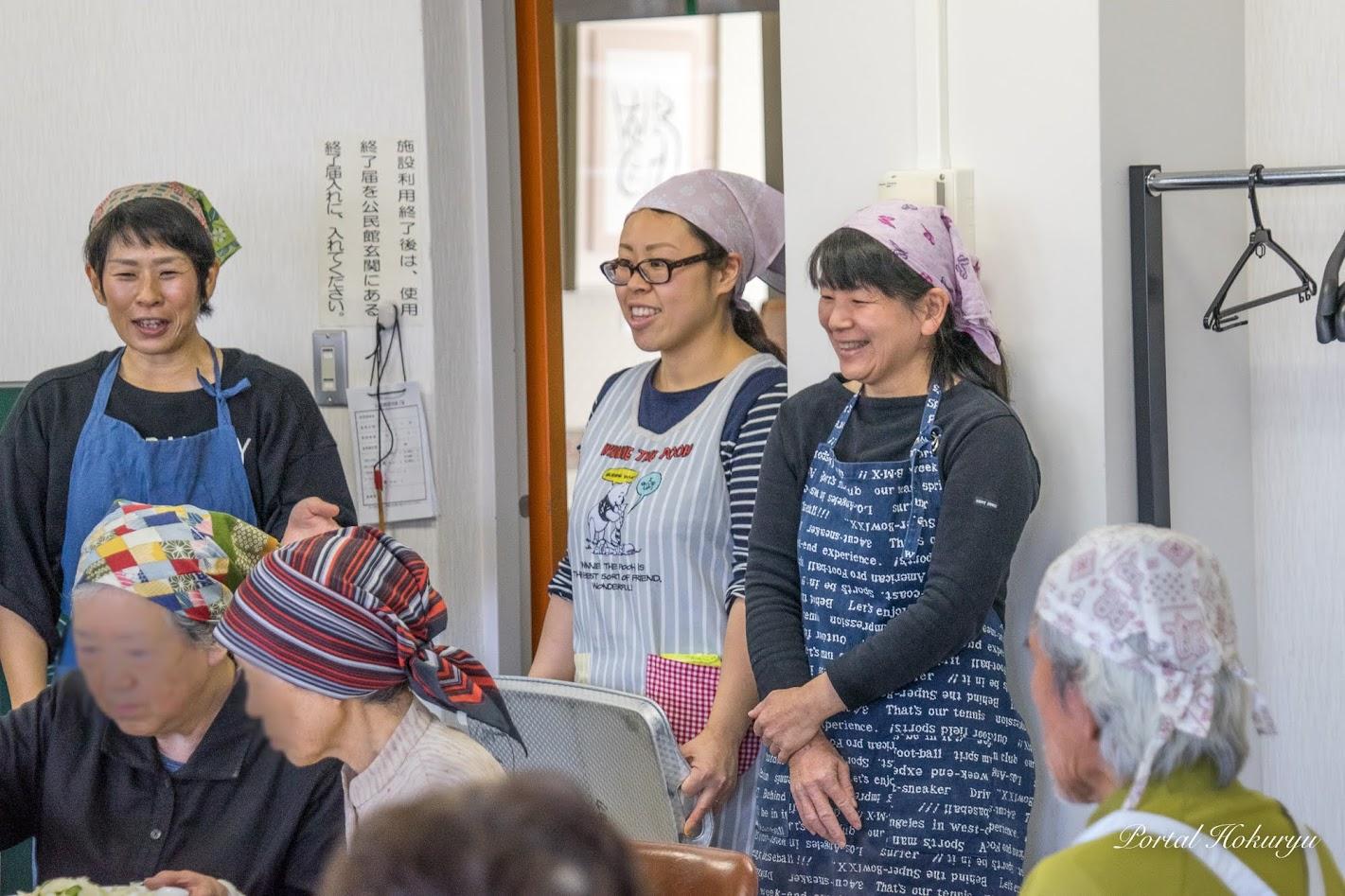 渡部鮎美さん(保育士)、竜西農場奥様・安達直子さん