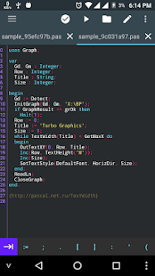 Pascal N-IDE - Editor And Compiler - Programming- screenshot thumbnail