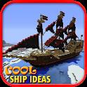 Cool Minecraft Ship Ideas icon