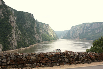 Photo: Day 83 - Iron Gates on the Danube (Narrowest Point - 150 Metres Wide)