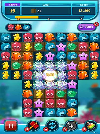 Ocean Match Puzzle apktram screenshots 4