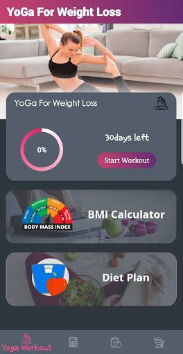 Yoga For Weight Loss(30 days Yoga Plan) Offline 1.0.0 screenshots 2