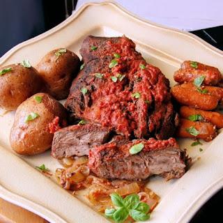 Crock Pot Italian Style Pot Roast.