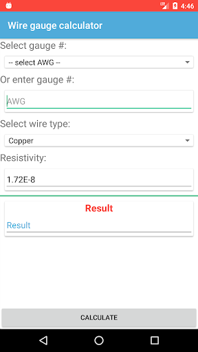 Wire gauge calculator apk 12 download only apk file for android wire gauge calculator wire gauge calculator wire gauge calculator greentooth Gallery
