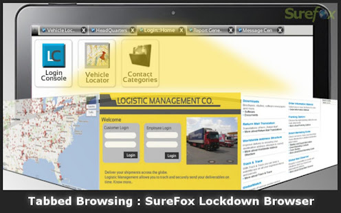 Download SureFox Kiosk Browser Lockdown APK 7 83 by 42Gears