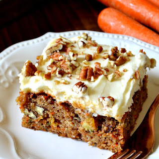 Butter Icing For Carrot Cake Recipes.
