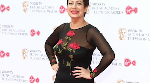 Denise Welch piled on pounds after booze ban