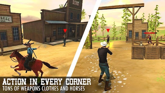Guns and Spurs 2 MOD (Unlimited Purchases) 4