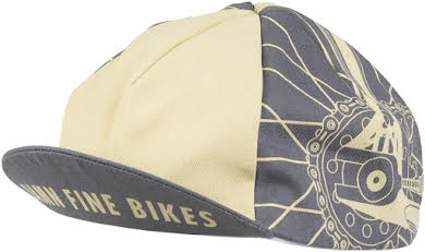 All-City Damn Fine Cycling Cap - Gray, Khaki, One Size alternate image 2