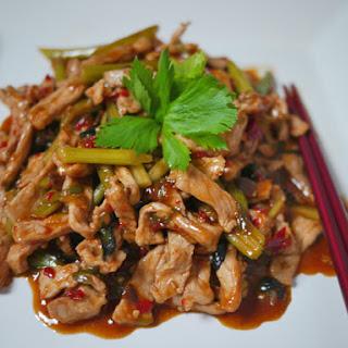Yu Xiang Pork (Yu Xiang Rou Si)