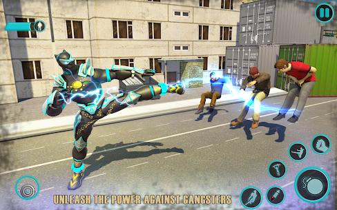 Flying Panther Robot Hero Fighting Game 2