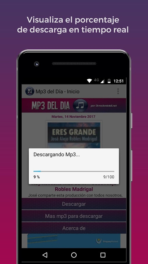 Música Cristiana en MP3- screenshot