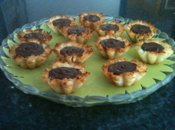 Coconut Macaroon Filled Tartlets Recipe