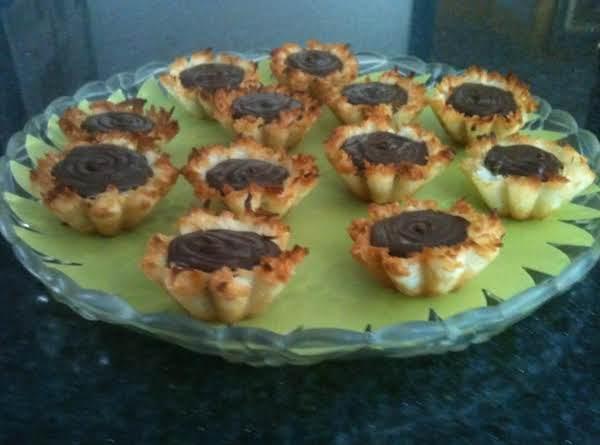 Coconut Macaroon Filled Tartlets Recipe