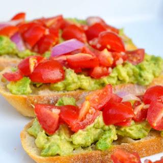 Avocado Bruschetta Crostinis Recipe