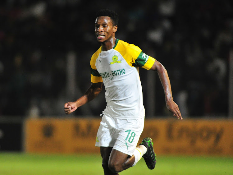 Themba Zwane scored the first goal for Mamelodi Sundowns while the second came via an own goal.
