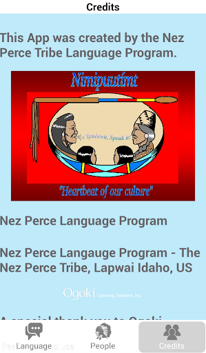 Nez Perce Language