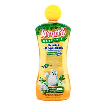 Shampoo Arrurrú Naturals   PH Equilibrado X 400ml