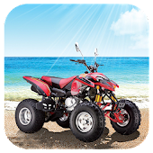 Beach Motorcycle Jigsaw