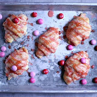 Strawberry Chocolate Danishes