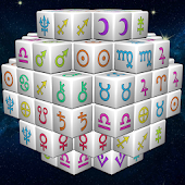 FAIRY MAHJONG 3D Zodiac Horoscope Majong Dominos