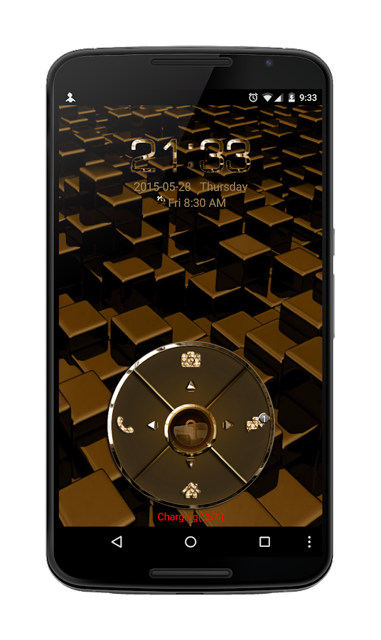 24K Four Key Go Locker Theme- screenshot