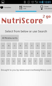 NutriScore2Go screenshot 3
