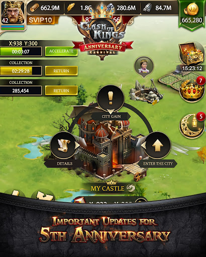 Clash of Kings : The Ramadan event is on going! screenshot 6