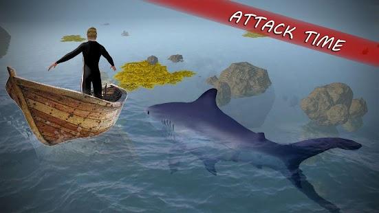 Underwater White Shark Simulator 3D - náhled