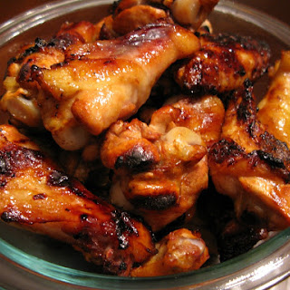 Honey-Garlic Chicken Wings.