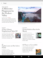 Screenshot of NYTimes – Latest News