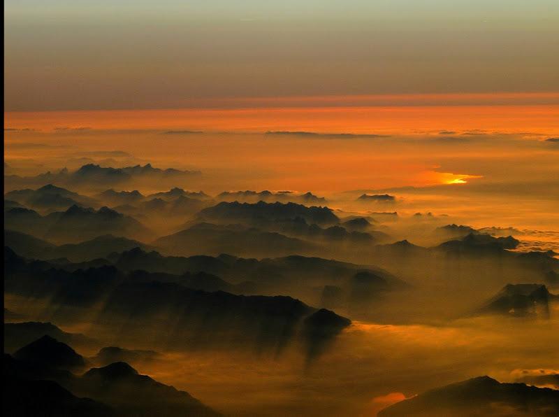 Sopra le nuvole .. di Luk
