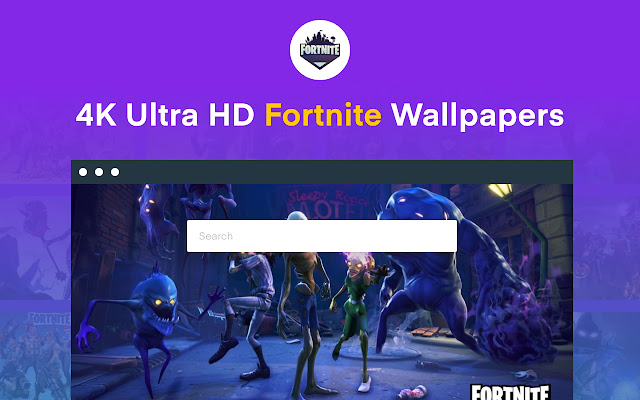 4k Hd Fortnite Wallpapers New Tab Themes