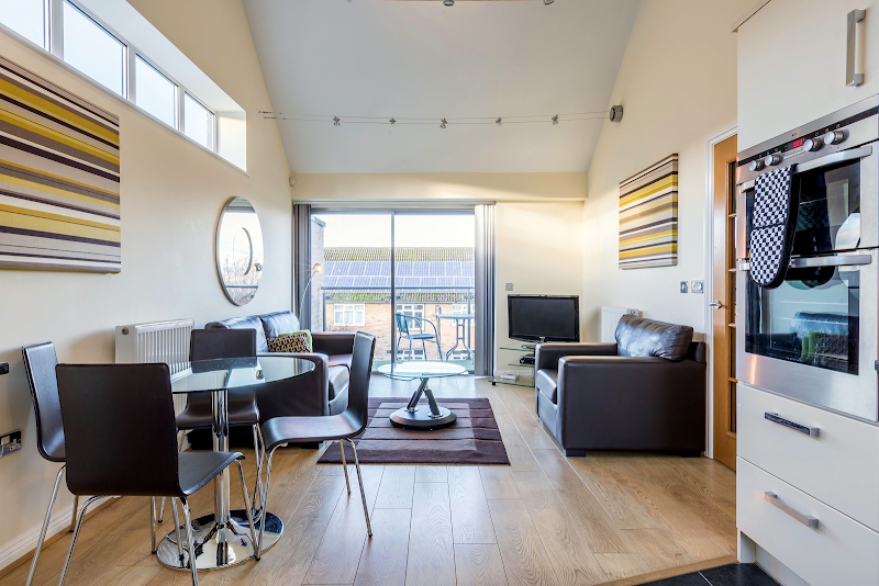 living space at Spur House