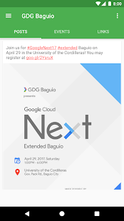 GDG Philippines - náhled