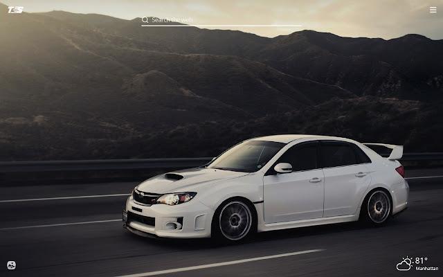 Subaru WRX HD Wallpapers New Tab