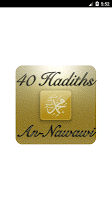 screenshot of 40 hadiths (An-Nawawi)