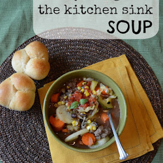 Everything but the Kitchen Sink Soup.