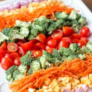Broccoli Tomato and Cheese Salad (VIDEO).