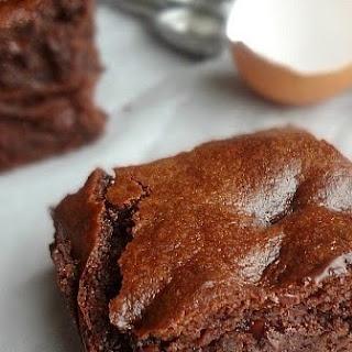 Flourless Almond Butter Chocolate Brownies