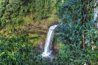 Photo: Laos Reisen, E- TU Wasserfall