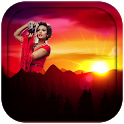 Sunset Photo Frames icon