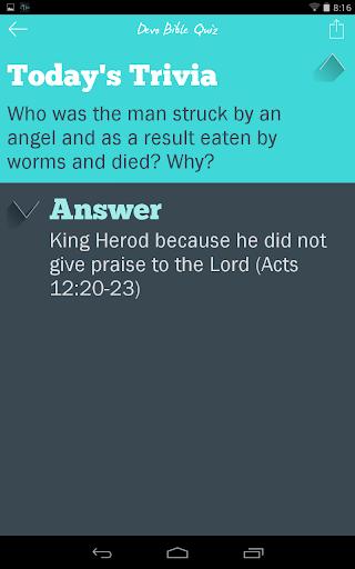 Devo Bible Quiz screenshots 14